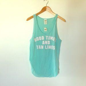 🌵 PINK aqua green blue tank top
